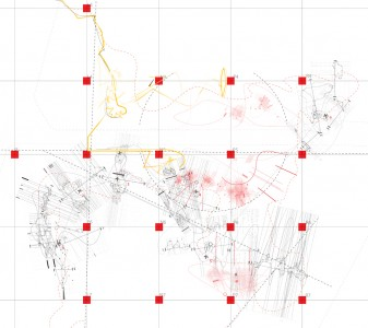Slaughterhouse Event, Moon Joo Lee, analyzed gestural notation drawing