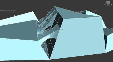 bridge between extruded polygons