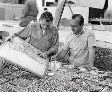 constructing landscape model