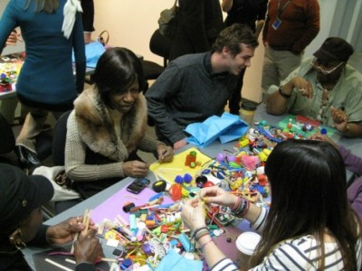 Participants model their ideal cities