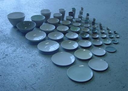 tableware by vincent de rijk, 2003
