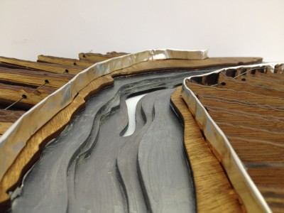 final model: view along the river