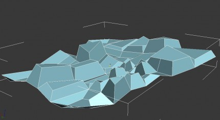 extrude and bevel polygons