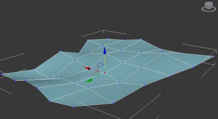 transform vertices on the Z-axis